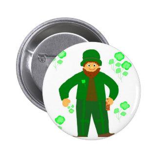 St Patrick s Day Green Leprechaun Pin