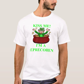 st patrick;s day irish jewish design T-Shirt