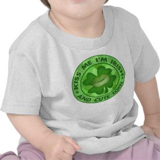 St Patrick s Day Irish Kiss Me T-Shirt Bodysuit