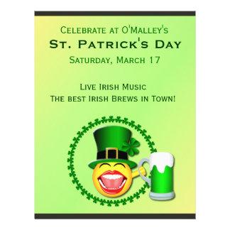 St Patrick s Day Irish Pub Flyer Flyer