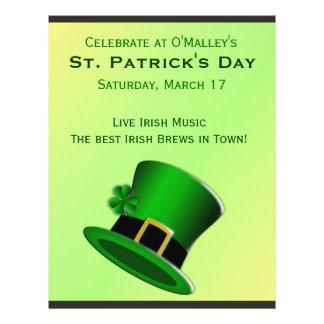 St Patrick s Day Irish Pub Flyer Custom Flyer