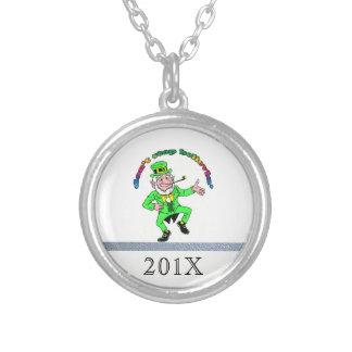 St Patrick s Day Leprechaun Don t Stop Believing Necklace