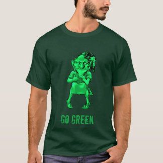 St. Patrick's Day Leprechaun Go Green T-shirt 2