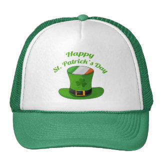 St Patrick s Day Leprechaun Hat Shamrock Clover