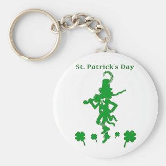 St. Patrick's Day Leprechaun Keychain