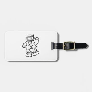 St Patrick s Day Leprechaun Tag For Bags