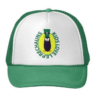 St Patrick s Day Leprechaun Mesh Hats