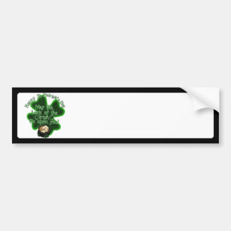 St Patrick s Day - May the Luck of the Irish Bumper Stickers