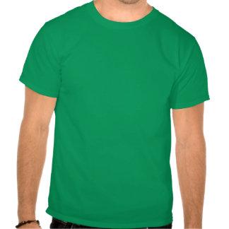 St Patrick s Day Mustache With Shamrock eyes Tshirts