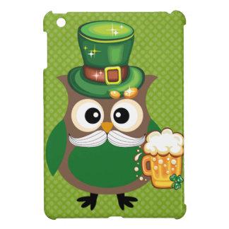 St. Patrick's Day Owl iPad Mini Cover