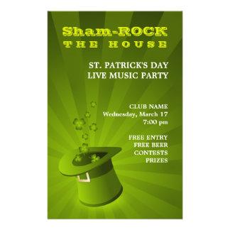 St Patrick s Day Party flyer