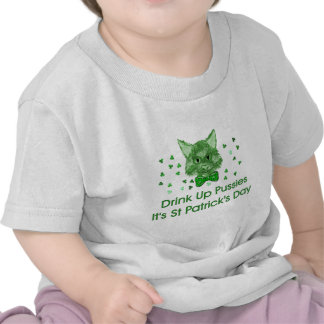 St Patrick s Day Scrapper Cat Shirts