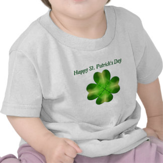 St. Patrick's Day Shamrock Background Shirts