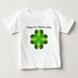 St. Patrick's Day Shamrock Background Tshirt
