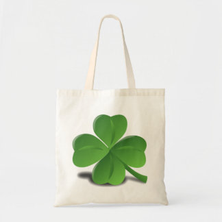 St. Patrick's Day Shamrock Clover Bag