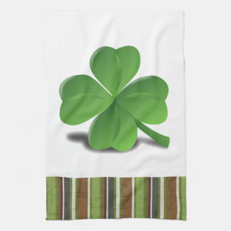 St. Patrick's Day Shamrock Clover Kitchen Towel