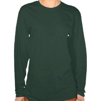 St Patrick s Day Shamrock EKG - I m Irish At Heart Tee Shirt