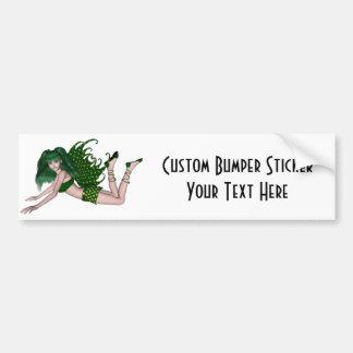 St Patrick s Day Sprite 2 - Green Fairy Bumper Sticker