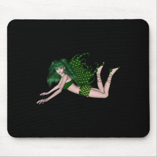 St Patrick s Day Sprite 2 - Green Fairy Mouse Pad