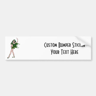 St Patrick s Day Sprite 4 - Green Fairy Bumper Stickers