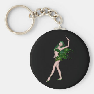 St Patrick s Day Sprite 4 - Green Fairy Key Chains