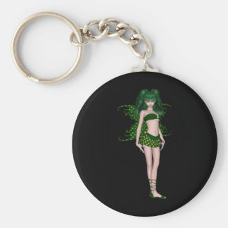 St Patrick s Day Sprite 5 - Green Fairy Key Chains