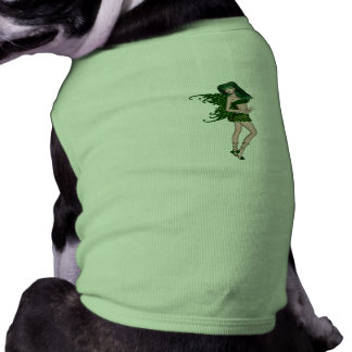 St Patrick s Day Sprite 8 - Green Fairy Dog Clothing