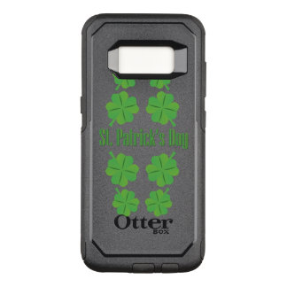 St. Patrick's Day with clover OtterBox Commuter Samsung Galaxy S8 Case