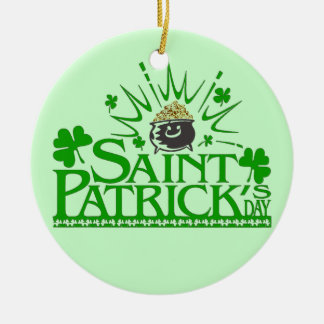 St. Patrick's Gold Pot Ornament