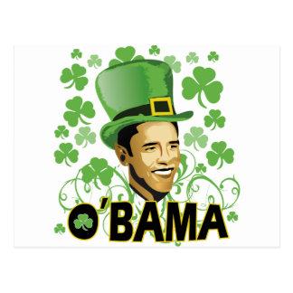 St Patrick s Irish O Bama 2009 Post Cards