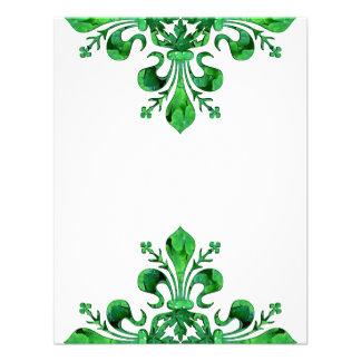 St Patrick s Lucky Fleur de lis Invites
