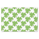 St. Patrick Shamrock Irish Ireland Clover Pattern Tissue Paper