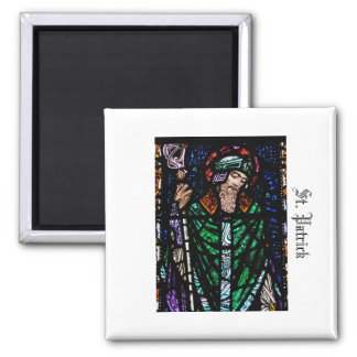 St. Patrick Stained Glass Magnet