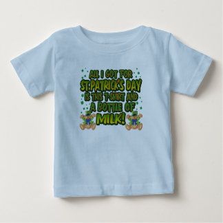 St. Patrick's Baby Shirts