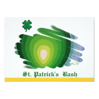 St. Patrick's  Bash Invitation Card