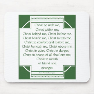 St. Patrick's Breastplate Mouse Mat