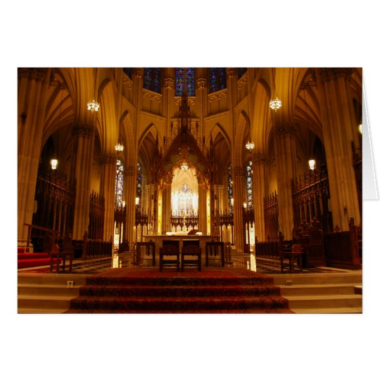 St Patrick's Cathedral Card