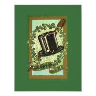 St. Patrick's Day 11 Cm X 14 Cm Invitation Card