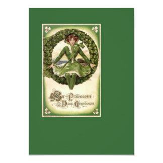 St. Patrick's Day 2 13 Cm X 18 Cm Invitation Card