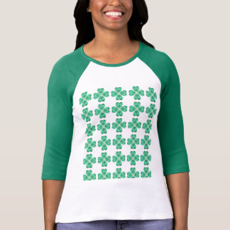 St Patrick's day 3/4 Sleeve top Tshirt