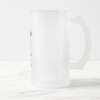 st. patrick's day, abducted by little green men mug