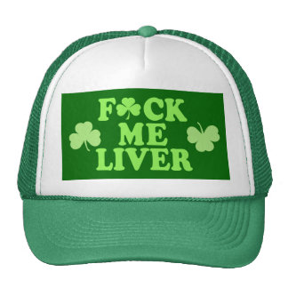 St Patrick's Day Alcohol Drinking Mesh Hats