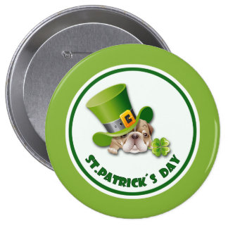 St.Patrick's Day Button