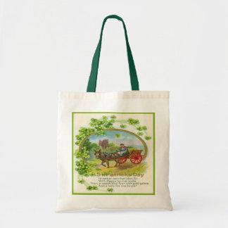 St Patricks Day Bag 14 Budget Tote Bag