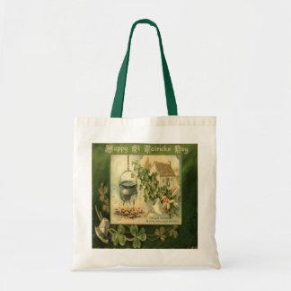 St Patricks Day Bag 6 Budget Tote Bag
