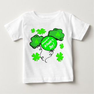 St Patrick's Day Balloons Baby T-Shirt