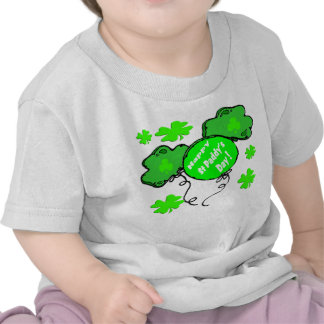 St Patrick's Day Balloons Tee Shirts