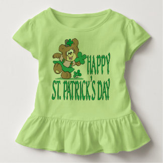 St. Patrick's Day Bear Infant Shirt