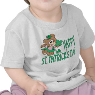 St. Patrick's Day Bear Infant Shirt Tshirt