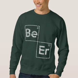 St Patrick's Day Beer Elements Sweatshirt
